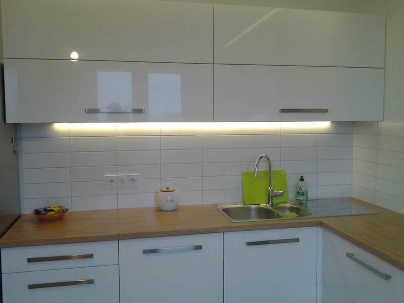 Цвет кухонного гарнитура в скандинавском стиле
