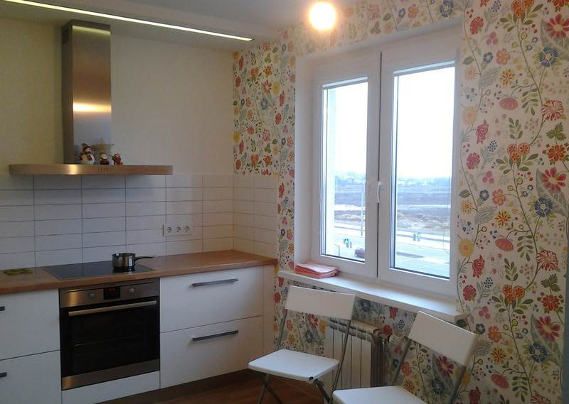 Кухонный гарнитур в скандинавском стиле