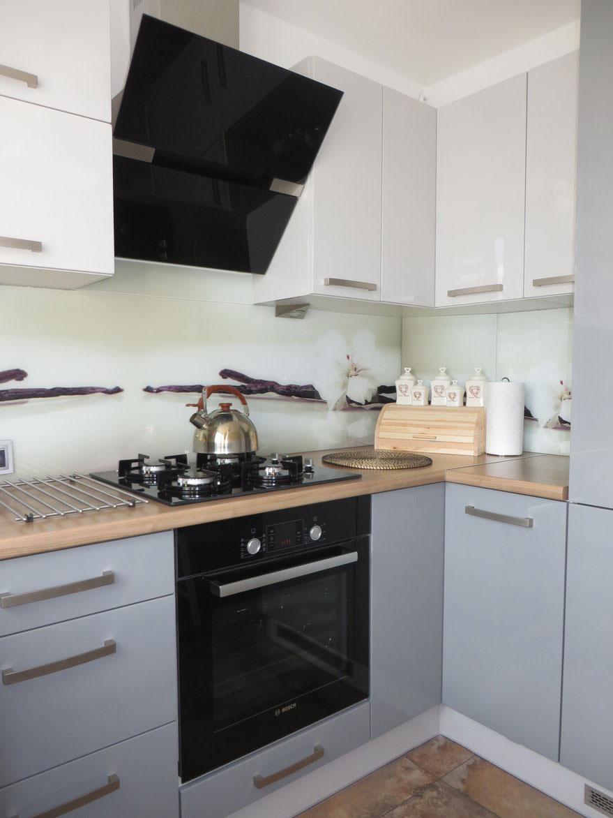 Эта кухня отличный образец дизайна в скандинавском стиле