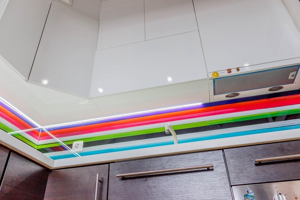 Рейлинговые ручки отличный выбор для кухонной мебели