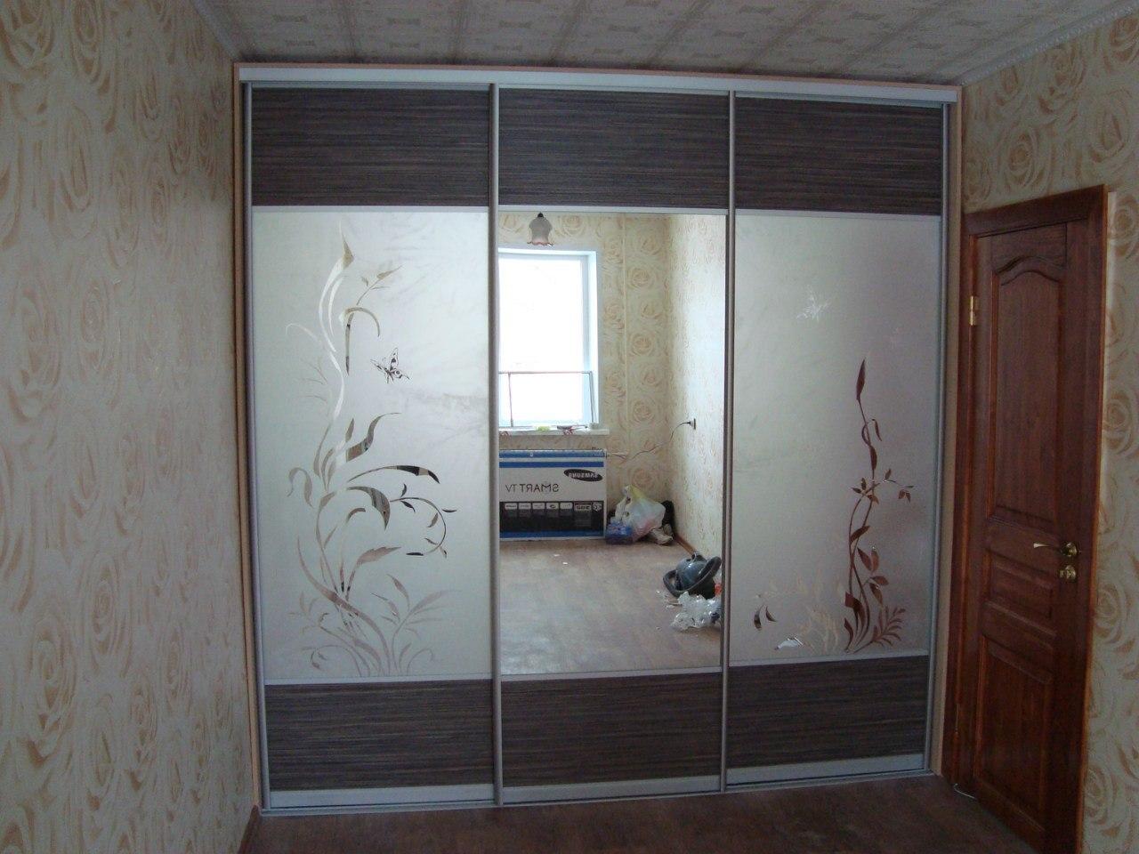 Матовые двери хорошо вписались в интерьер